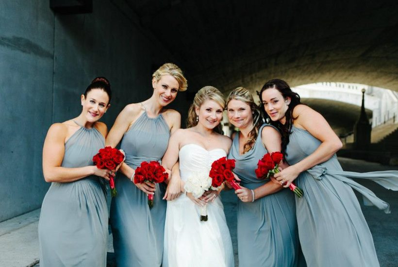 Megan and Bridal party